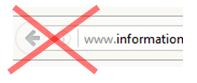 Bild: Browser-Zurück funktioniert nicht